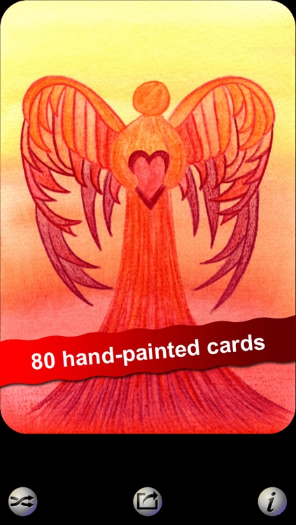 Angel Heart Oracle Cards - Seraphina of Elvenstone