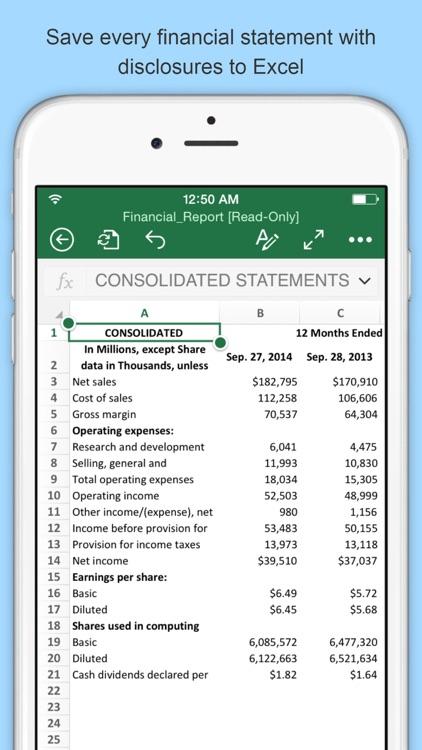 Last 10K: Company SEC Filings screenshot-4
