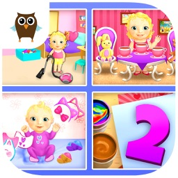 Sweet Baby Girl Dream House 2 - Daycare, Cleanup and Playtime (No Ads)