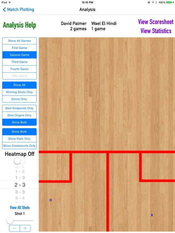 CourtVision - Squash Strategy App screenshot-3