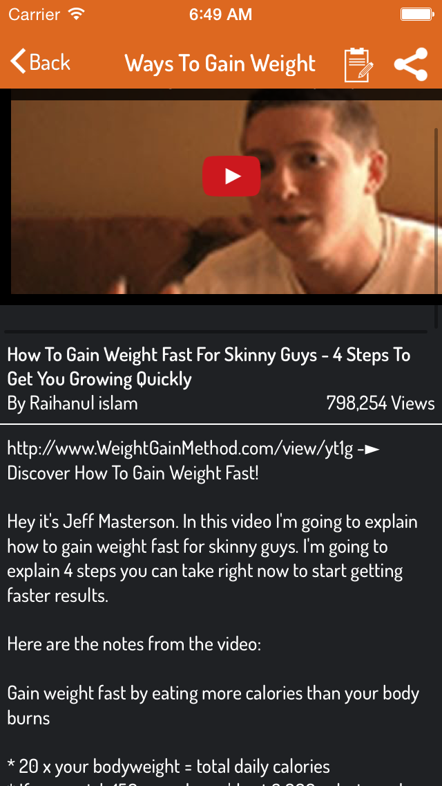 How To Gain Weight - Ultimate Guideのおすすめ画像3