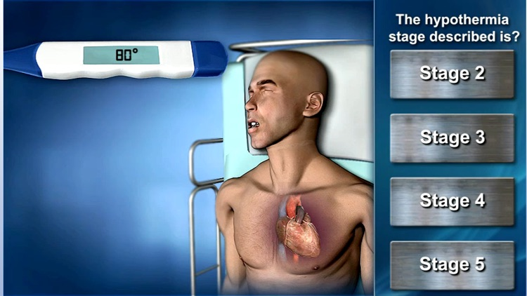Medrills: Heat and Cold Exposure Emergencies screenshot-1