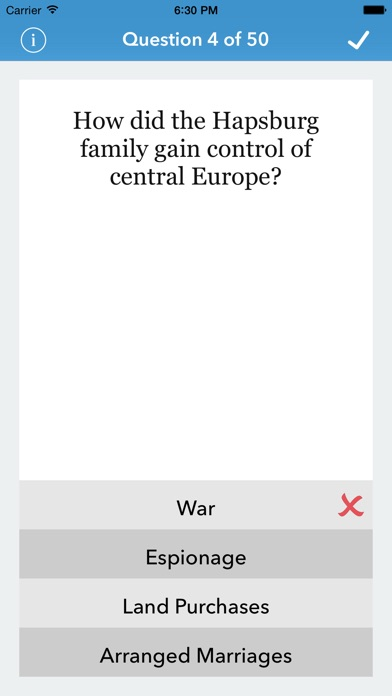 World History Trivia For The Factual Intellectual review screenshots