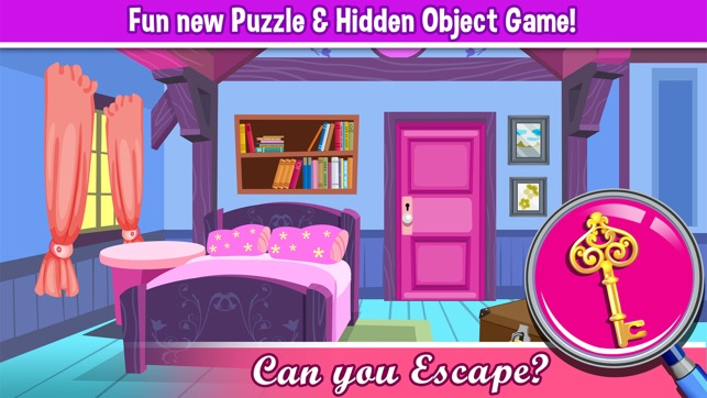 A Princess Hollywood Hidden Object Puzzle - can u escape in