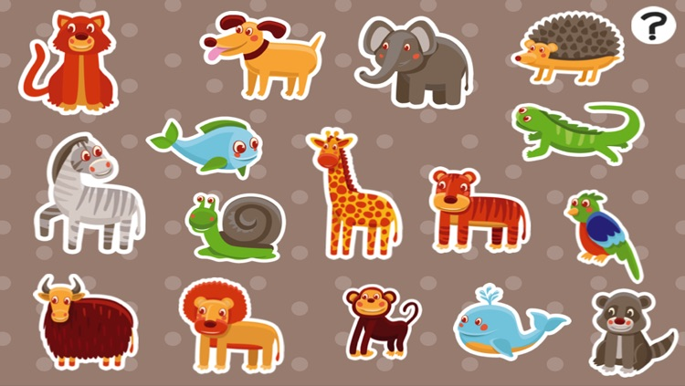 ABC First Words for Children – Learn the English Names of Animals