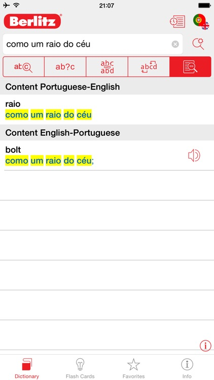 Portuguese - English Berlitz Basic Dictionary