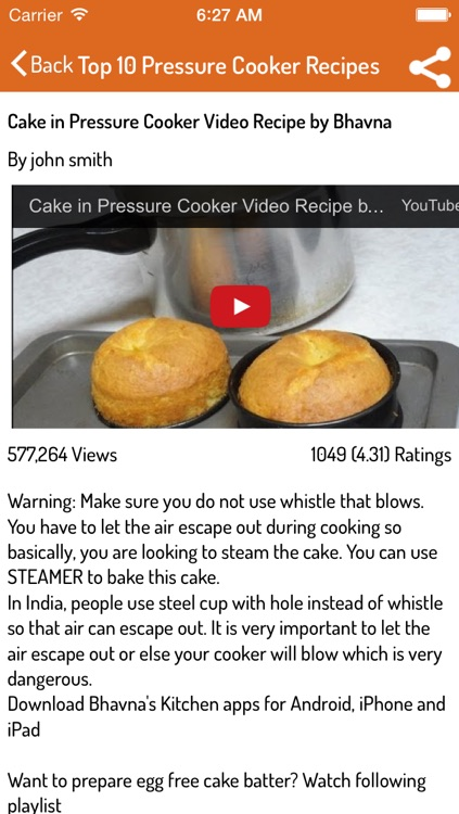 Pressure Cooker Recipes!! screenshot-3