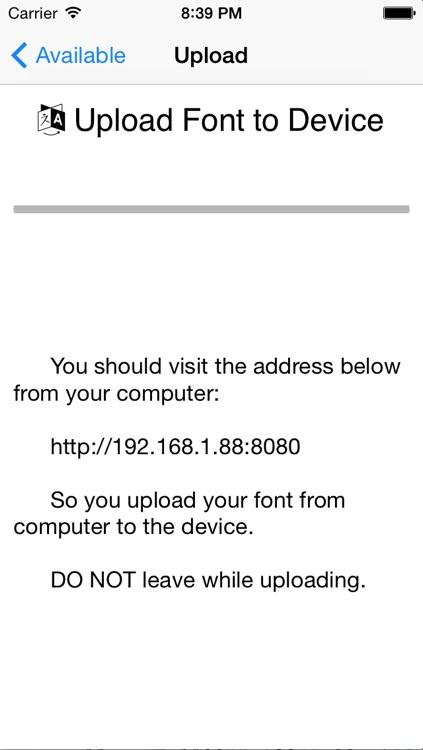 aoFont - Install font as you wish