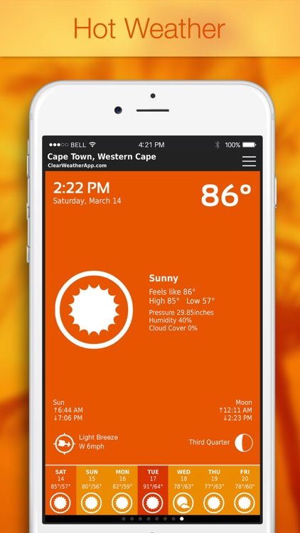 ClearWeather — Color Forecast screenshot-1