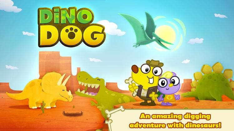 Dino Dog ~ A Digging Adventure with Dinosaurs! screenshot-0