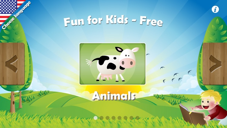 Fun for Kids HD Free - Learning Games and Puzzles for Toddlers & Preschool Kids screenshot-0