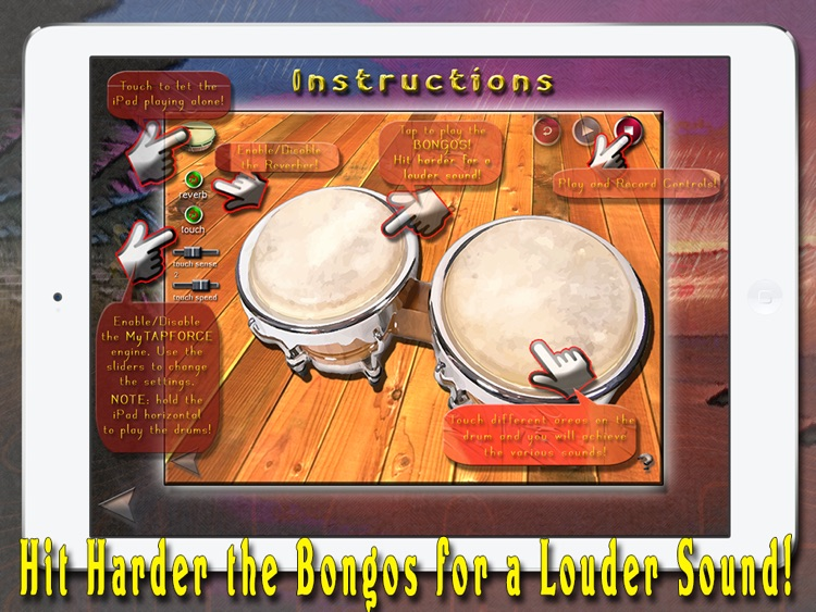 i Play My Cuban Bongo Drums screenshot-3