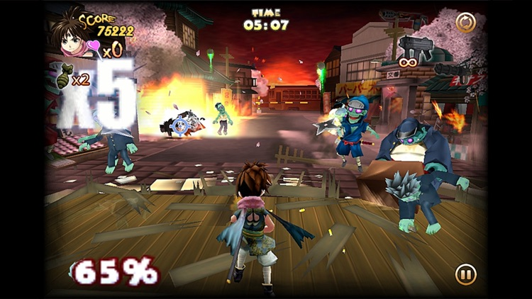 Zombie Panic in Wonderland Plus screenshot-1