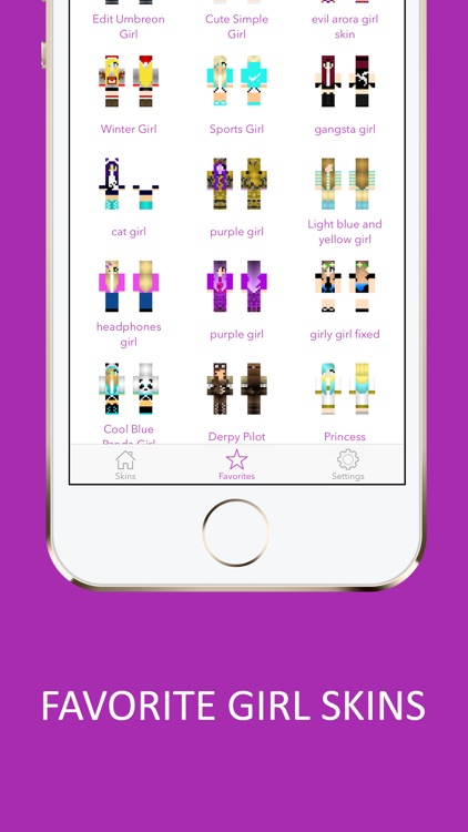 Animated 3D Girl Skins for Minecraft PE screenshot-3