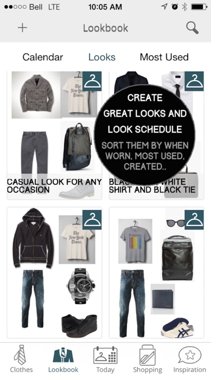 Mod Man - Closet Organizer, Lookbook, and Style Shopping App for Men