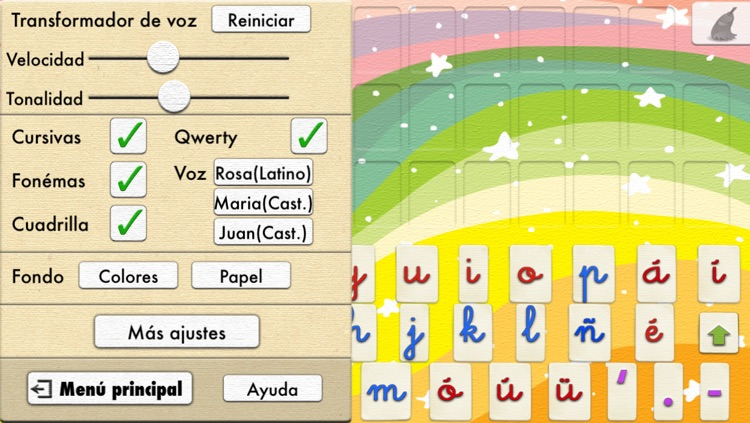 Spanish Word Wizard : Spanish Talking Movable Alphabet with Spell Check + Spelling Tests