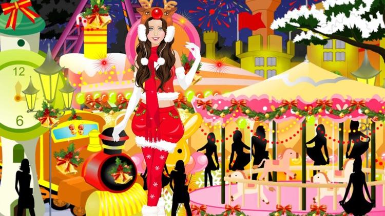 Dress Up - Christmas Girls screenshot-4