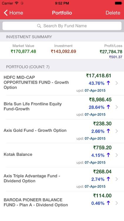 Moneysage Lite screenshot-3