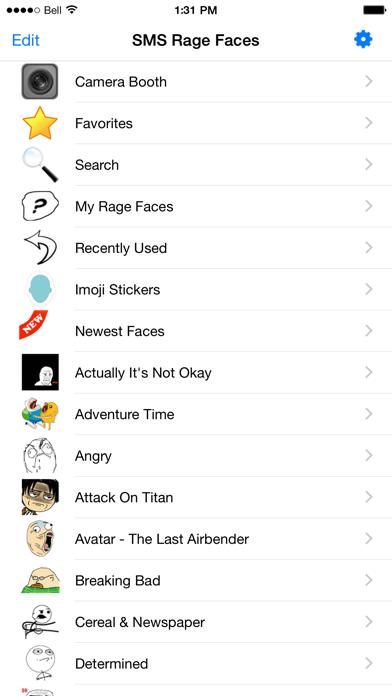 SMS Rage Faces Proのおすすめ画像4