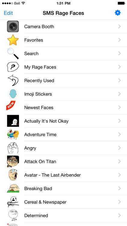 SMS Rage Faces Pro screenshot-3