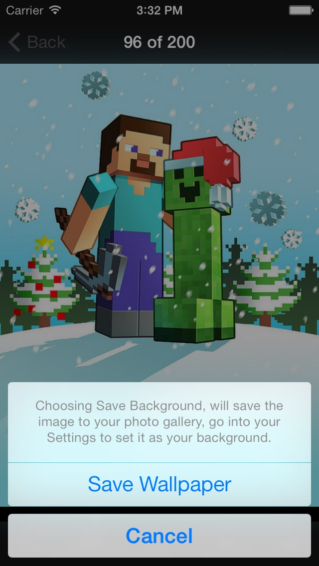 NEW Wallpapers for Minecraft Edition - Backgrounds & Mini Mine Forum Screenshot