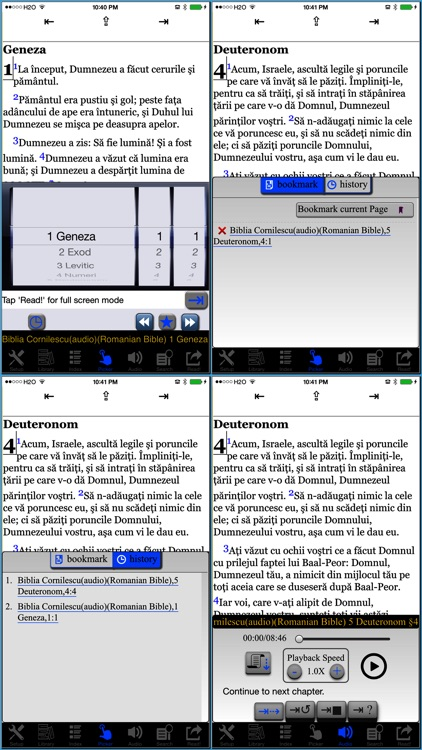 Biblia Cornilescu(audio)(Romanian Bible) screenshot-4