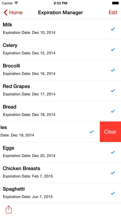 Smart Shopping List review screenshots