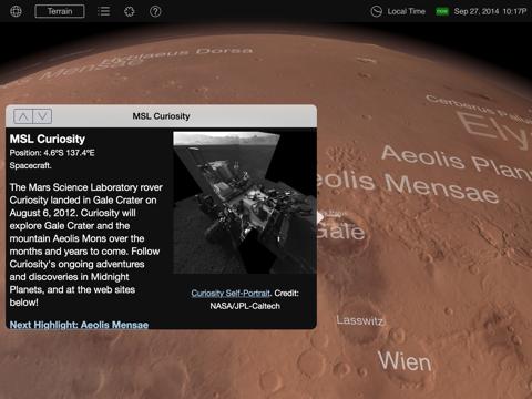 Mars Globe-ipad-1