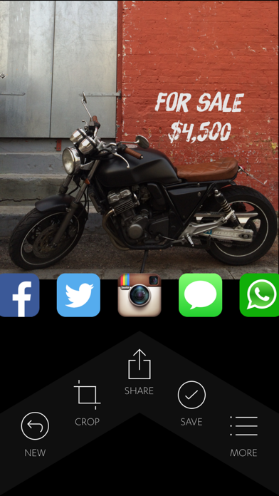 Quick — add text to photos fast screenshot