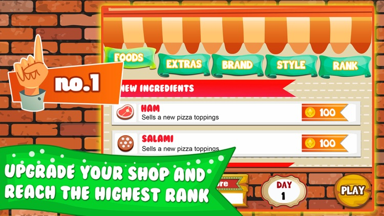 Pizza Cooking Dash Fever Maker - restaurant story shop & bakery diner town food games! screenshot-3