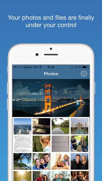 Touch ID Camera Security Manager: Hide Private Secret Photos + Documents screenshot three