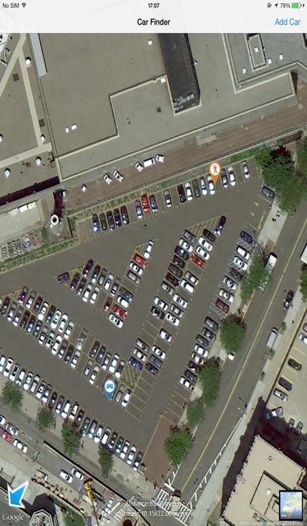 car finder map screenshot-3