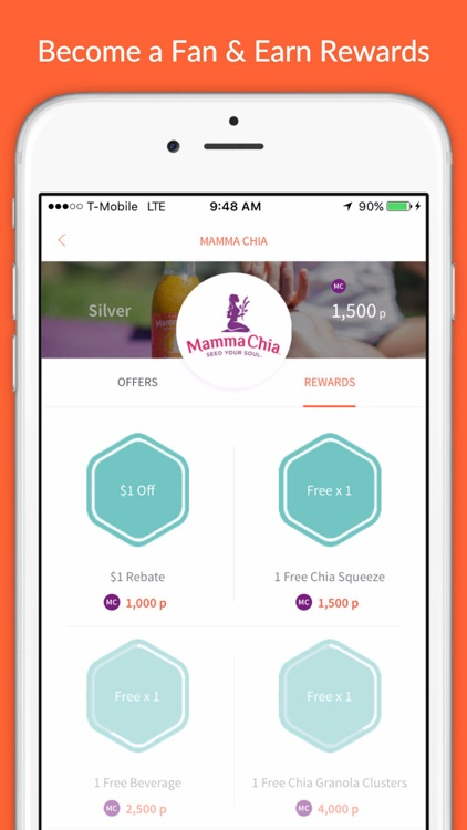 Shrink - Grocery Cash Back & Rewards for Healthy Lifestyle screenshot-1