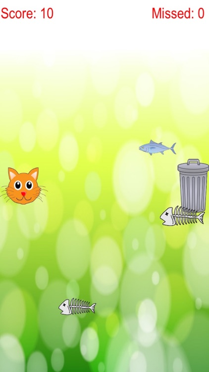 Distinguish Food And Rubbish: Feed Cute Cat With Fish Free