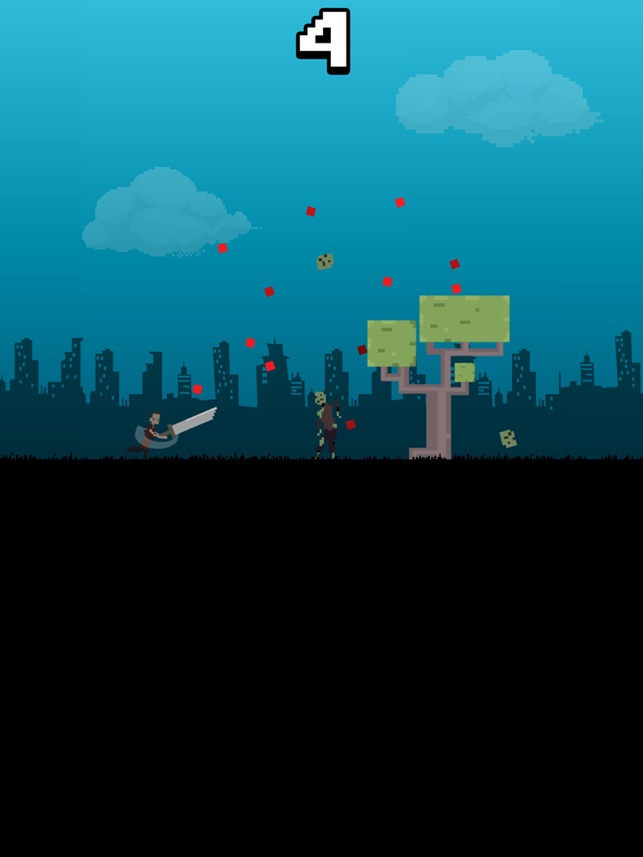 Bloody Pixel Zombies, game for IOS