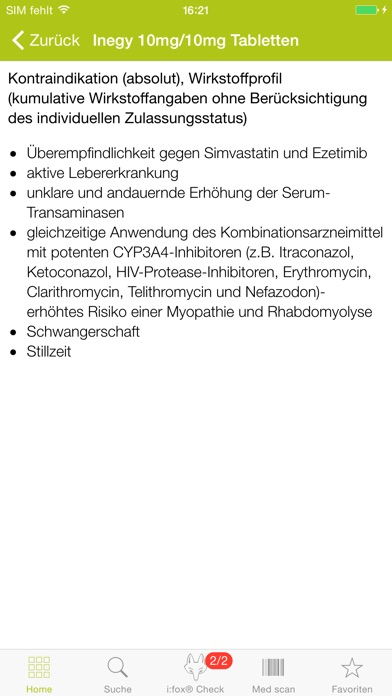 Screenshot for Arznei aktuell in Germany App Store