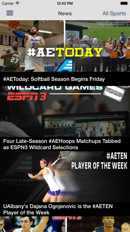 America East On the Go