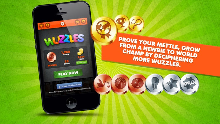 Wuzzles - Guess what's the Rebus Catchphrase Saying & Logic Word Puzzles Game screenshot-3