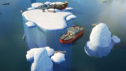 3D Icebreaker Parking - Arctic Boat Driving & Simulation Ship Racing Gamesのおすすめ画像2