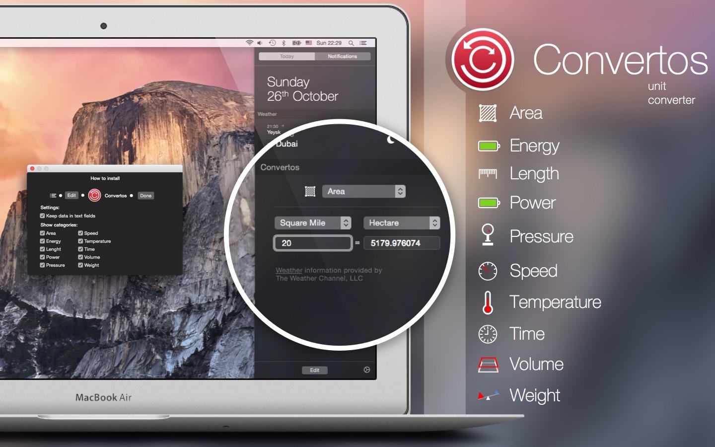 Screenshot do app Convertos