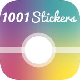 1001 Stickers pour créer vos messages et personnaliser vos photos