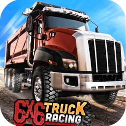 -6X6 Truck Racing - Realistic 3D Monster Truck Lorry Driving Simulator and Race Games
