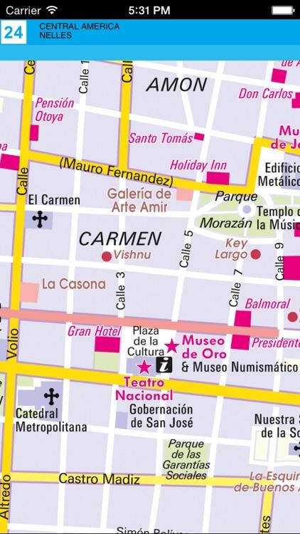 Central America. Tourist map. screenshot-4