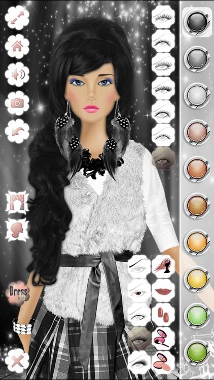 Makeup, Hairstyle & Dress Up Fashion Princess Free 2 screenshot-4