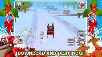 3Dサンタのそりのクリスマス駐車場ゲーム無料のおすすめ画像5