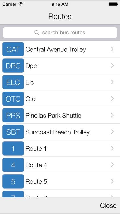 Transit Stop: PSTA Bus Tracker screenshot-4