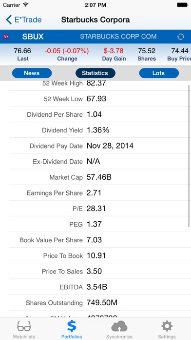 Stockmarketeye review screenshots