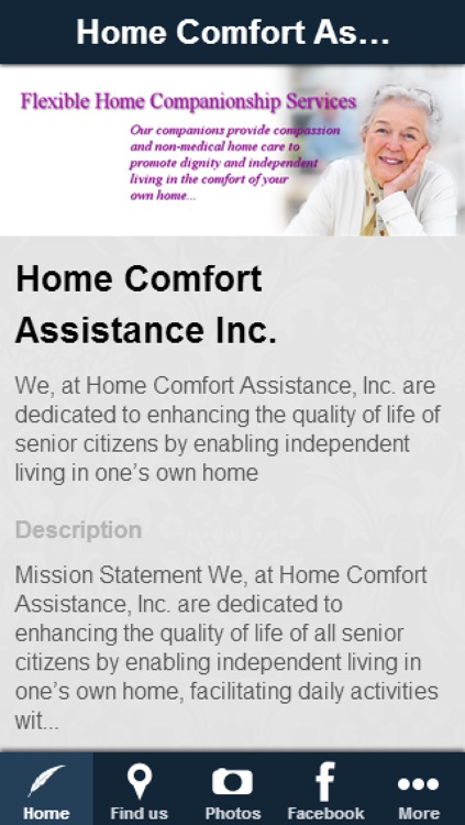 Home Comfort Assistance Inc.