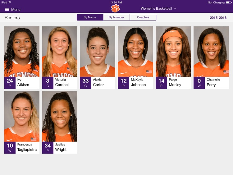 Clemson Tigers for iPad screenshot-3