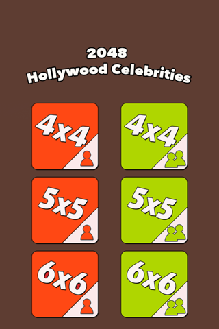 2048 Hollywood Celebrities Hottest Special Edition - New Celebrity  Version For Fans screenshot 2